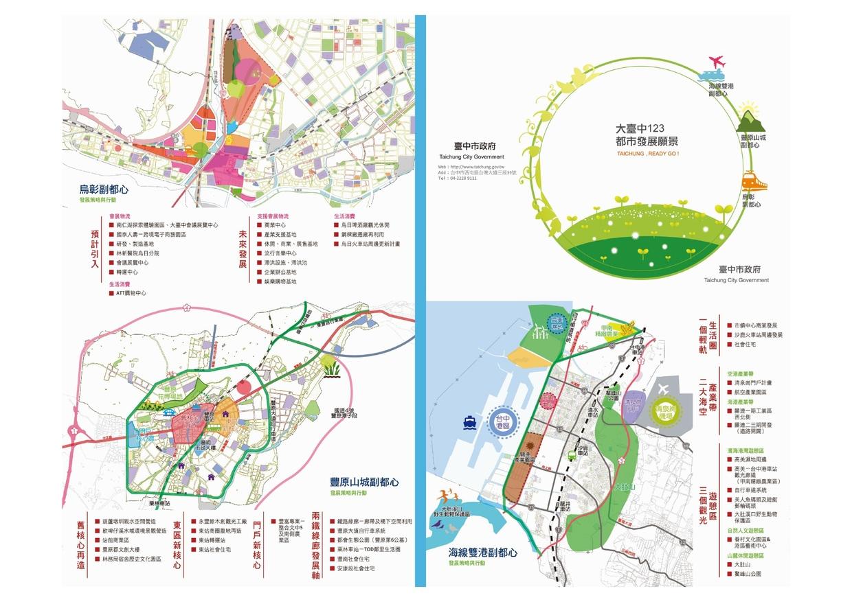 大臺中123都市發展願景文宣 (下載PDF電子檔), 另開新視窗.